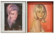Sale 8782 - Lot 1005 - Pair of Vintage Prints