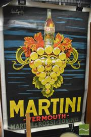 Sale 8364 - Lot 1034 - Vintage Vermouth Martini Poster