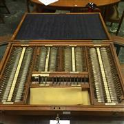 Sale 8643 - Lot 1011 - Optometrists Lenses in Fitted Case