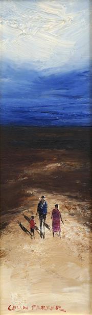 Sale 8693A - Lot 5032 - Colin Parker (1941 - ) - Endless Horizon 29.5 x 8.5cm