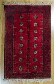 Sale 8717C - Lot 25 - Afghan Qunduzi 150cm x 100cm