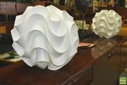 Sale 8310 - Lot 1044 - Pair of Danish Le Klint Pendant Light Fittings