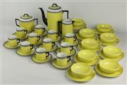 Sale 8445 - Lot 6 - Art Deco Style Coffee Wares