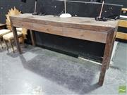 Sale 8532 - Lot 1001 - Long Modern Hall Table with Three Drawers