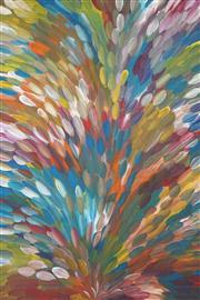 Sale 8549 - Lot 530 - Gloria Petyarre (c1945 - ) - Bush Medicine Leaves 207 x 137cm