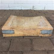 Sale 8607R - Lot 100 - Timber Butchers Block (12 x 46.5 x 61.5cm)