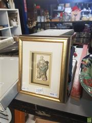 Sale 8595 - Lot 2100 - Beverley Wild - Wine Shop 8.5 x 5cm
