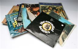 Sale 9148 - Lot 42 - A collection of LP records incl Beatles and Led Zeppelin