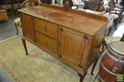 Sale 8383 - Lot 1420 - Maple Two Door and Drawer Sideboard