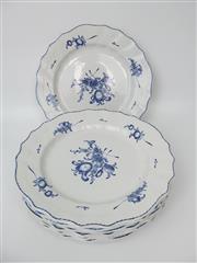Sale 8402B - Lot 61 - Set of Eight Boch Freres Keramis La Louviere Plates
