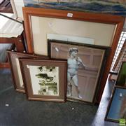 Sale 8636 - Lot 2090 - 5 Works incl 3 Photographs & 2 Prints
