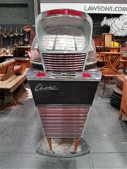 Sale 8741 - Lot 1022 - Chantal-Meteor 200 Vintage Juke Box