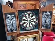 Sale 8834 - Lot 1087 - Case Dart Board