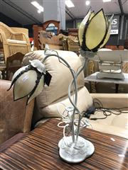 Sale 8851 - Lot 1100 - Twin Shade Table Lamp