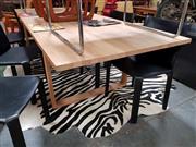 Sale 8930 - Lot 1090 - Fritz Hansen Blondewood Dining Table
