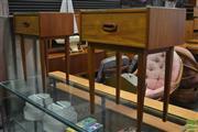 Sale 8409 - Lot 1011A - Pair of Parker Single Drawer Bedsides