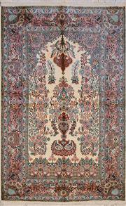Sale 8439C - Lot 52 - Kashmiri Silk 160cm x 100cm