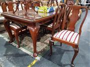 Sale 8826 - Lot 1020 - Regency Style 7 Piece Dining Suite