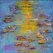 Sale 8958A - Lot 5053 - Mark Davis (1955 - ) - Hazy Day 55 x 55 cm (total: 55 x 55 x 4 cm)