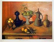Sale 8996A - Lot 5022 - Margaret Olley (1923 - 2011) - Turkish Pots & Lemons, 2004 79 x 108 cm