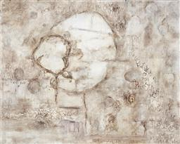 Sale 9174JM - Lot 5051 - JODY ROSEN Afrique VI mixed media on canvas 111.5 x 140 cm signed and titled verso