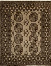 Sale 8402C - Lot 1 - Persian Turkman 190cm x 150cm