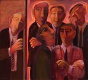 Sale 8565 - Lot 575 - Cynthia Breusch (1959 - ) - Leadership Challenge, 1994 90 x 90cm