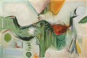 Sale 8583 - Lot 580 - Daryl Hill (1930 - 1999) - The Distant Shore, 1988 120 x 178cm