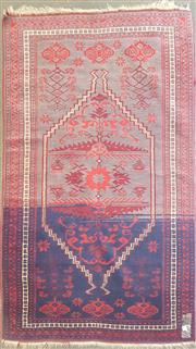 Sale 8676 - Lot 1144 - Persian Wool Rug (186 x 108cm)