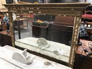 Sale 8826 - Lot 1032 - Vintage Gilt Framed Mantle Mirror