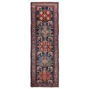Sale 8971C - Lot 71 - Antique Caucasian Akstafa Rug, Circa 1920, Rare Colours & Size, 120x365cm, Handspun Wool