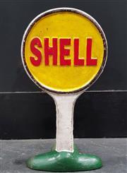 Sale 8988 - Lot 1072 - Cast Iron Shell Doorstop