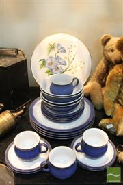Sale 8365 - Lot 70 - Denby Dinnerwares For Four Person Together with A Spode Lida & Acacia Plate
