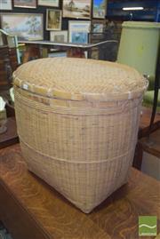 Sale 8390 - Lot 1222 - Large Lidded Basket