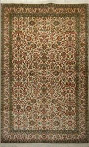 Sale 8402C - Lot 2 - Superfine Kashmiri Silk 155cm x 230cm