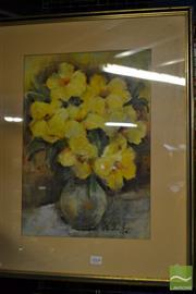 Sale 8495 - Lot 2045 - Freda Richardson - Still Life 45.5 x 31cm