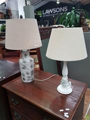 Sale 8601 - Lot 1373 - Two Table Lamps