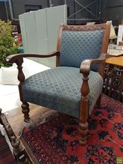 Sale 8601 - Lot 1351 - Fabric Upholstered Armchair