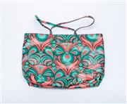 Sale 8760F - Lot 67 - A near-new M Missoni abstract floral design red and green tote, made in Italy, with dustbag, H 31 x W 42cm