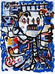 Sale 8958A - Lot 5009 - David Larwill (1956 - 2011) - Untitled, 1986 62.5 x 47 cm (frame: 83 x 68 x 4 cm)