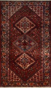 Sale 8402C - Lot 3 - Persian Hamadan 293cm x 160cm