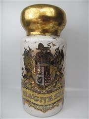 Sale 8402B - Lot 8 - Large Chemist Identity (Species) Jar, marked Magnesia 1871 - 76cm high