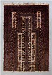 Sale 8493C - Lot 78 - Persian Baluchi 150cm x 90cm