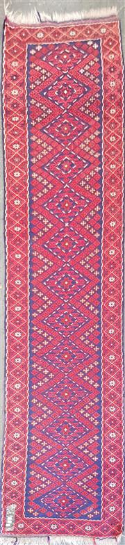 Sale 8676 - Lot 1078 - Persian Woollen Runner (265 x 71cm)