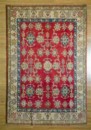 Sale 8693C - Lot 63 - Afghan Kazak 264cm x 170cm