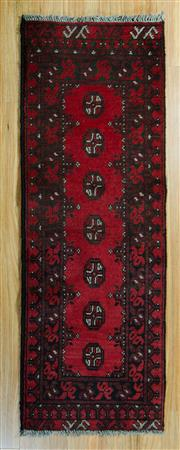 Sale 8717C - Lot 29 - Afghan Turkman 150cm x 50cm