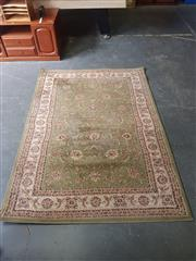 Sale 8834 - Lot 1012 - Green Tone Machine Made Floor Rug (230 x 160cm)