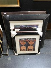 Sale 8865 - Lot 2042 - Group of (7) Contemporary South East Asian Paintings