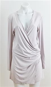 Sale 9081H - Lot 51 - A Mela Purdie stone wrap cardigan in viscose/spandex, size 10