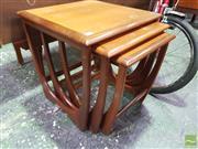 Sale 8435 - Lot 1081 - G-Plan Teak Nest of Tables